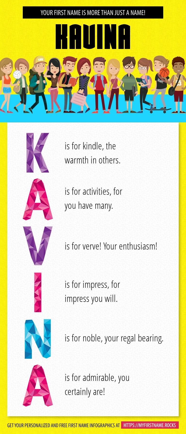 Kavina Infographics