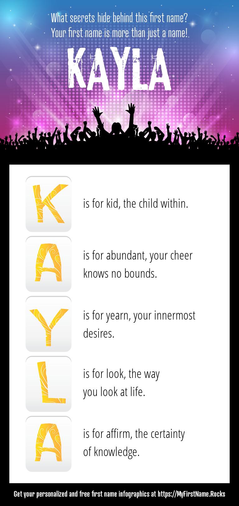 Kayla Infographics
