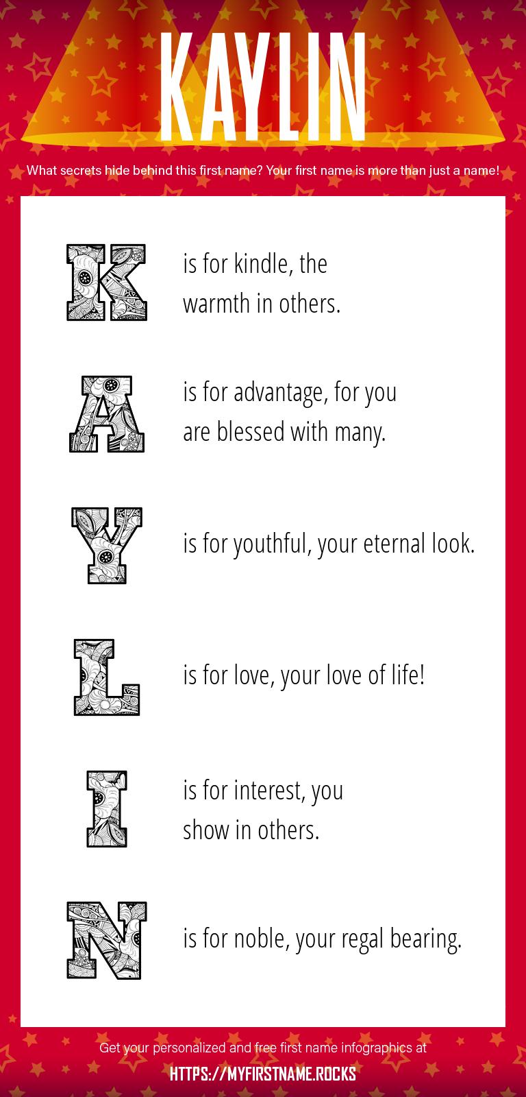 Kaylin Infographics
