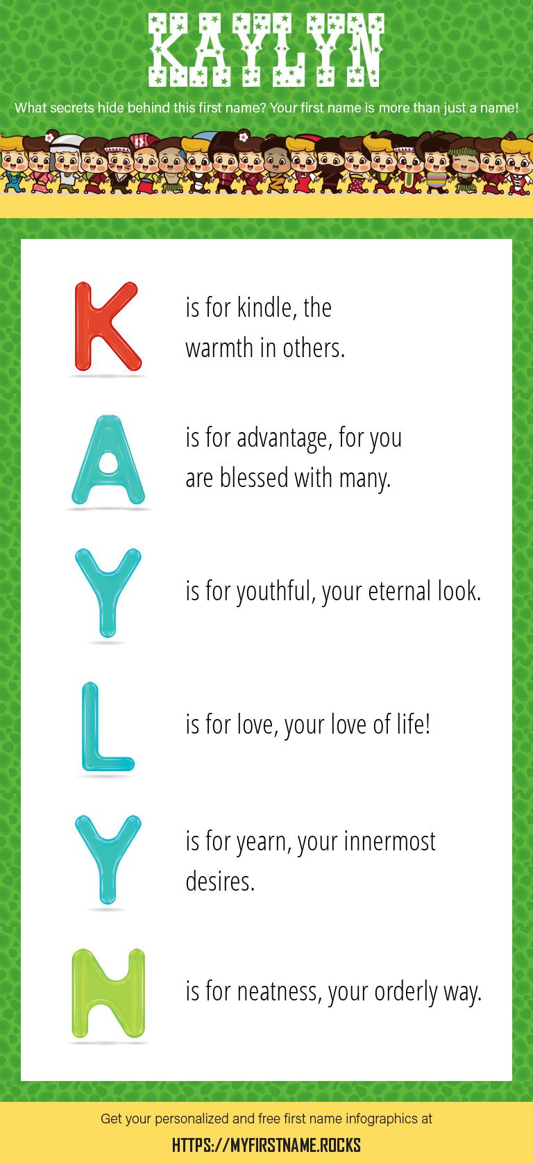 Kaylyn Infographics