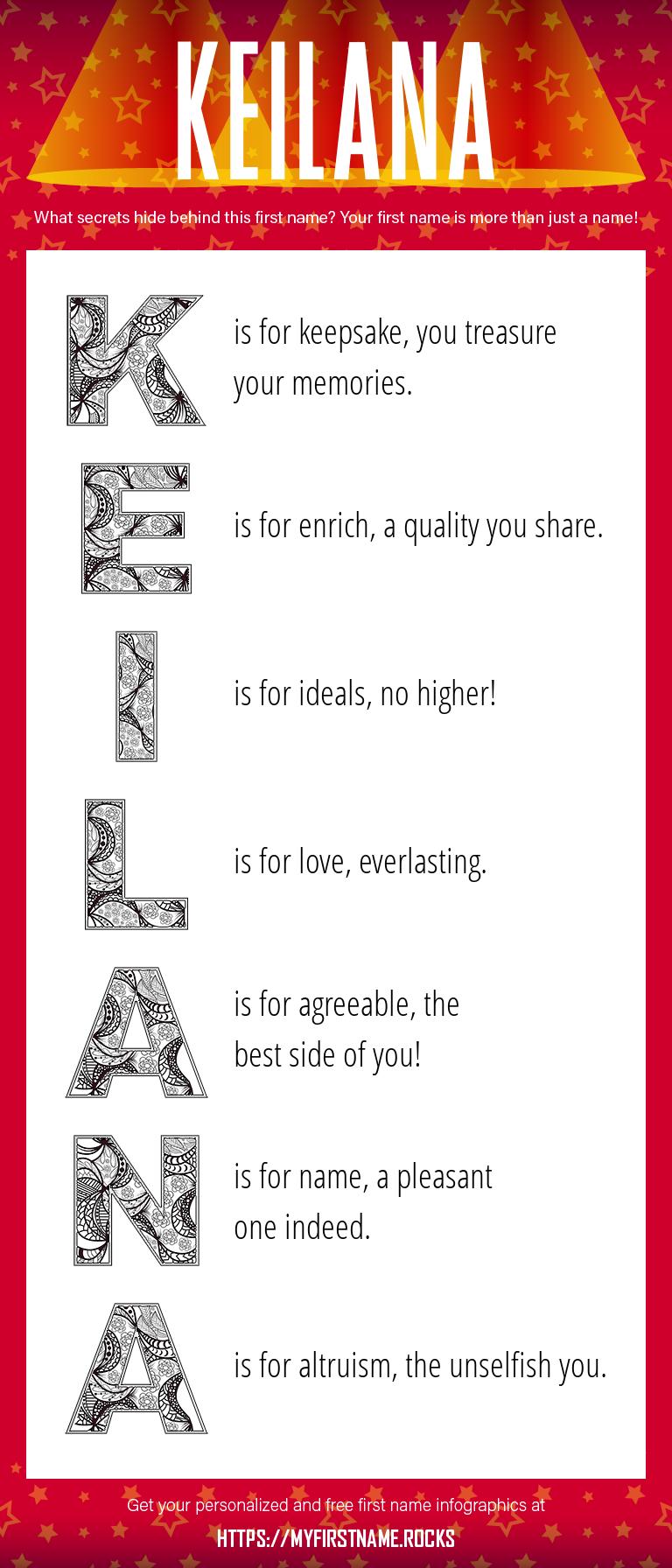 Keilana Infographics
