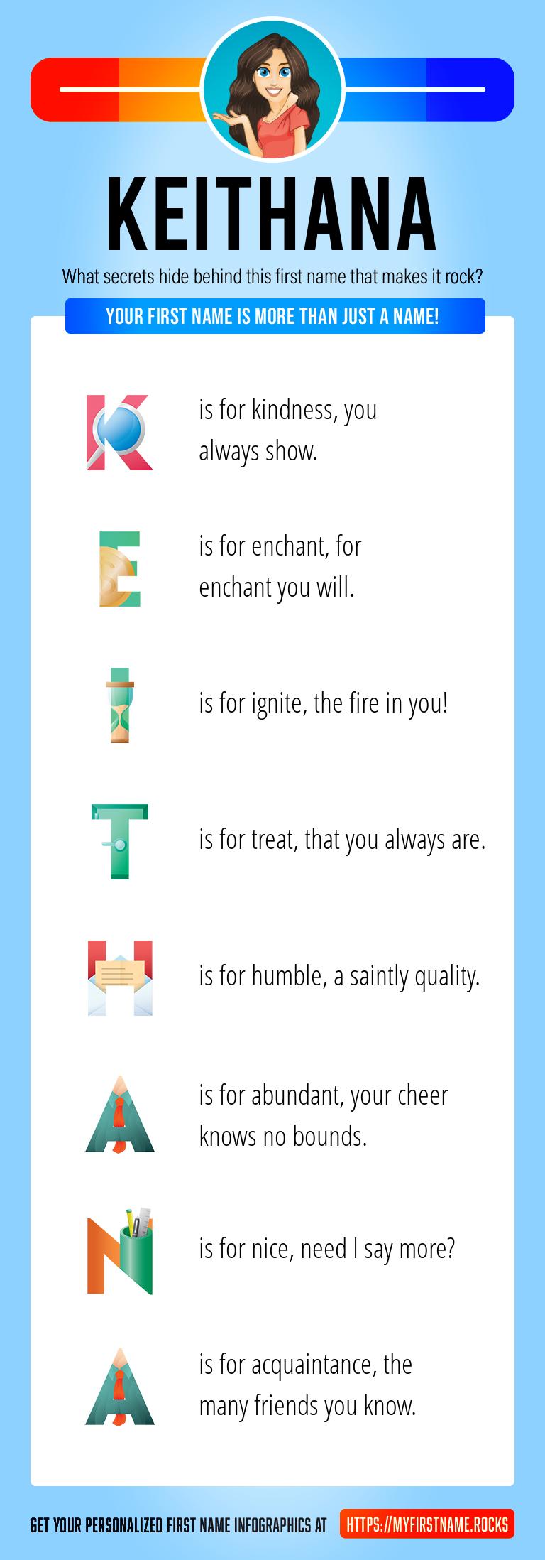 Keithana Infographics