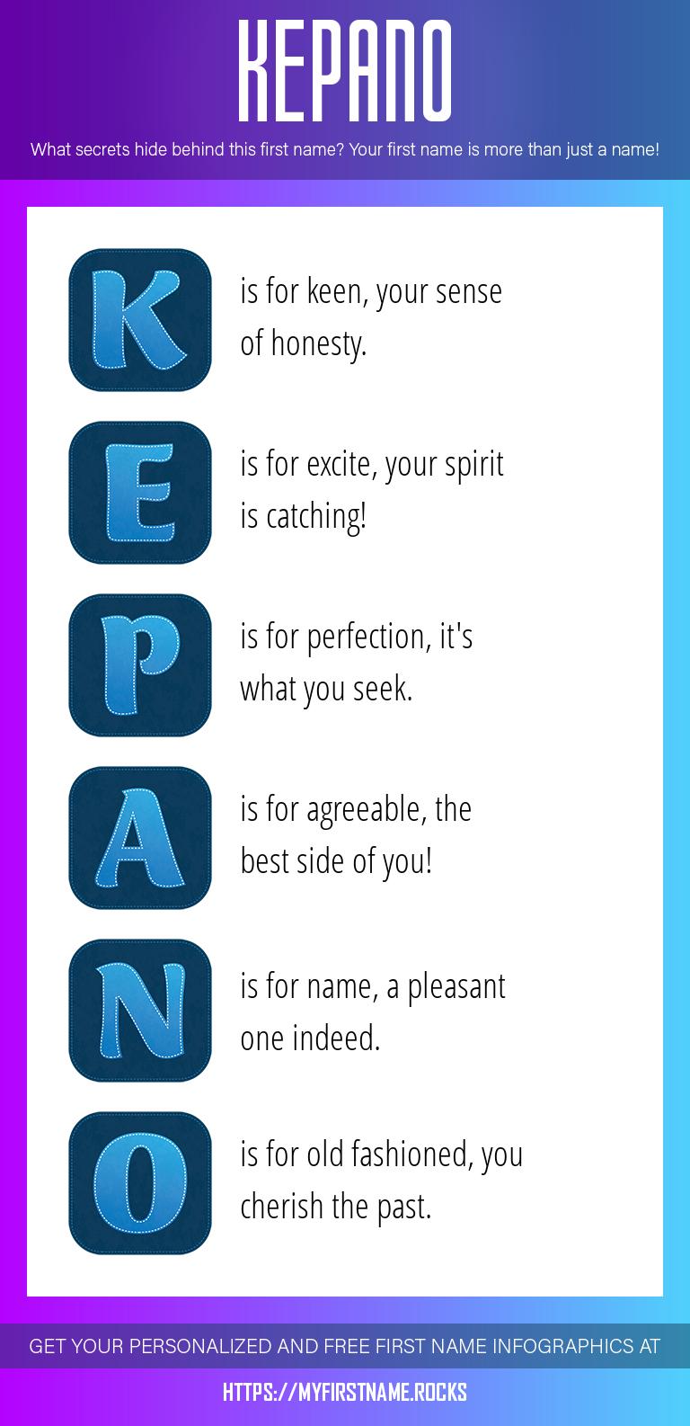 Kepano Infographics