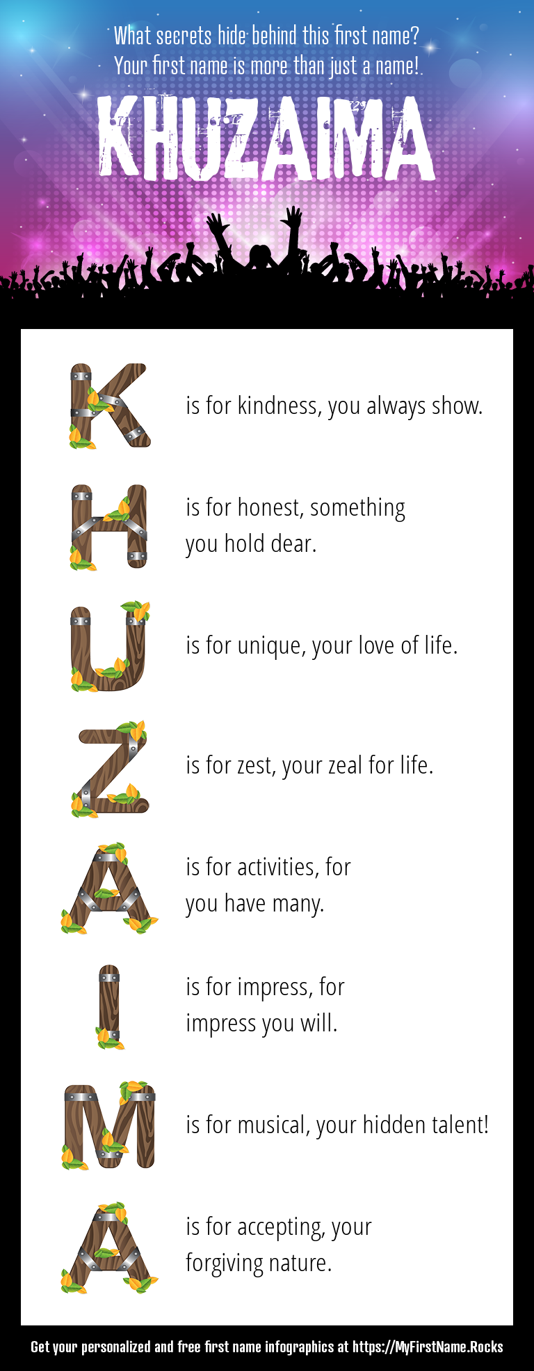 Khuzaima Infographics