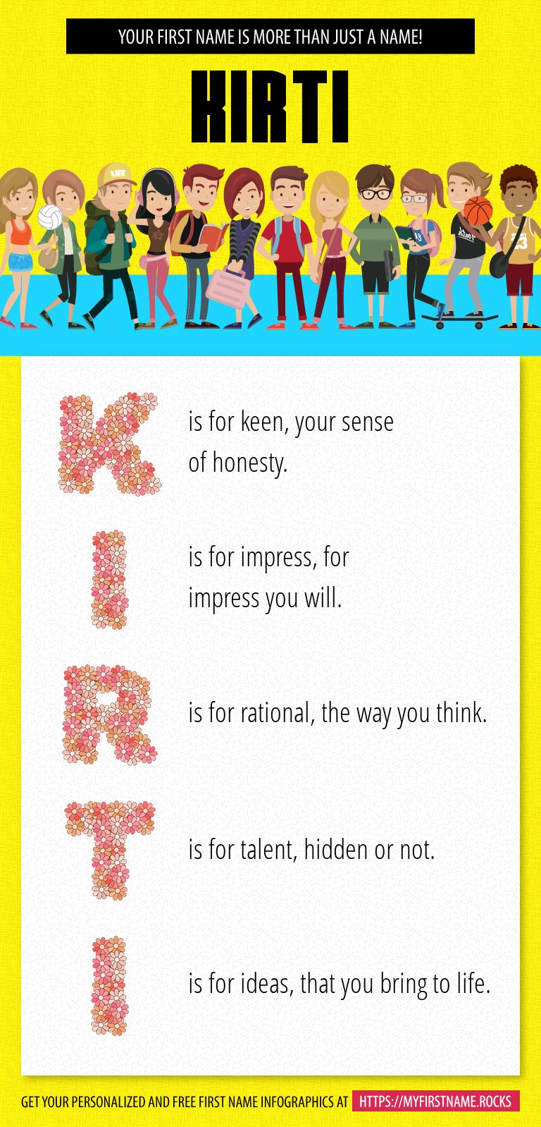 Kirti Infographics