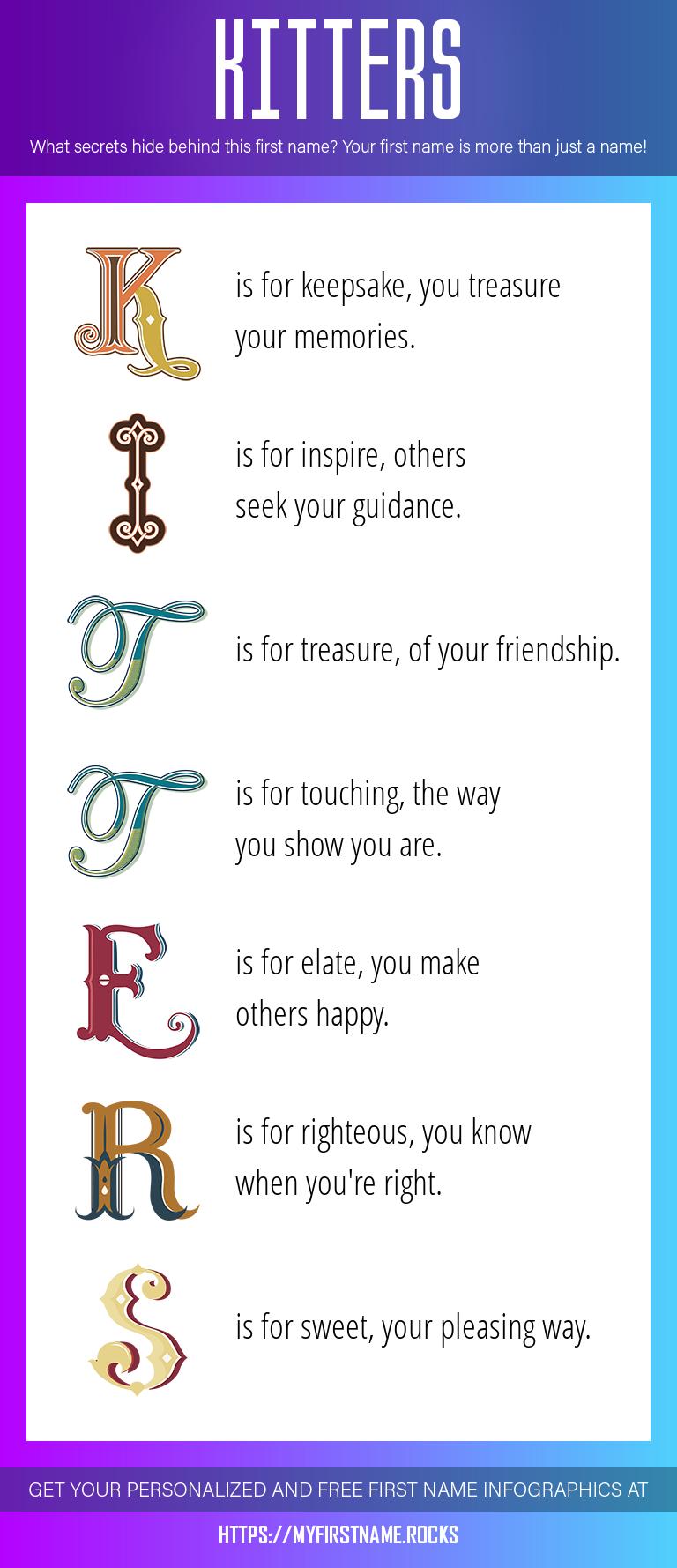Kitters Infographics