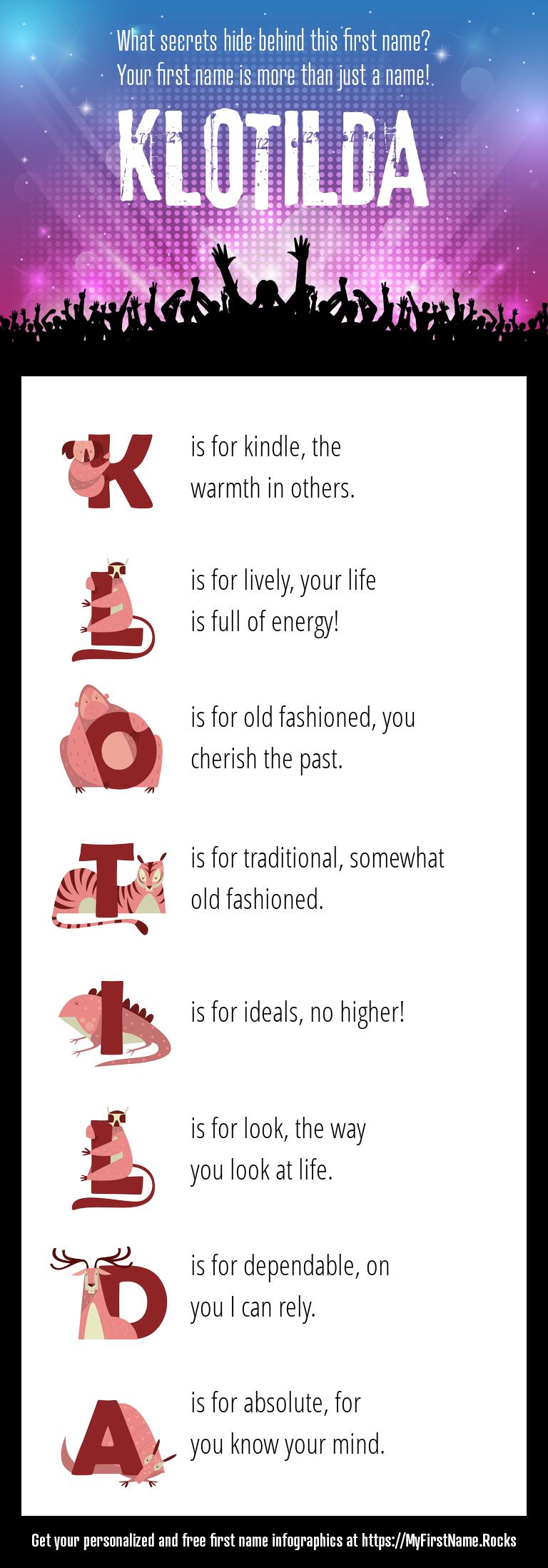 Klotilda Infographics