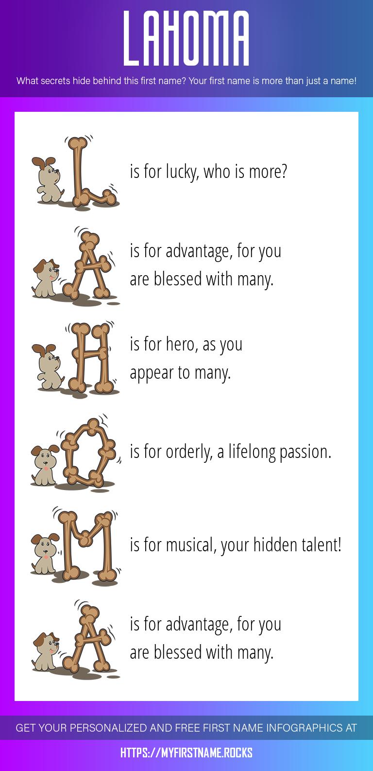 Lahoma Infographics