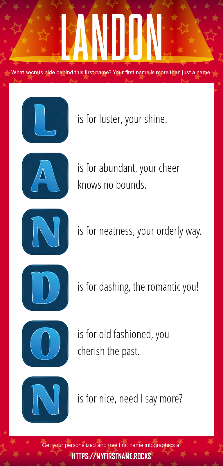 Landon Infographics