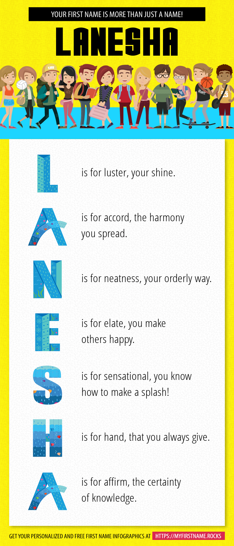 Lanesha Infographics