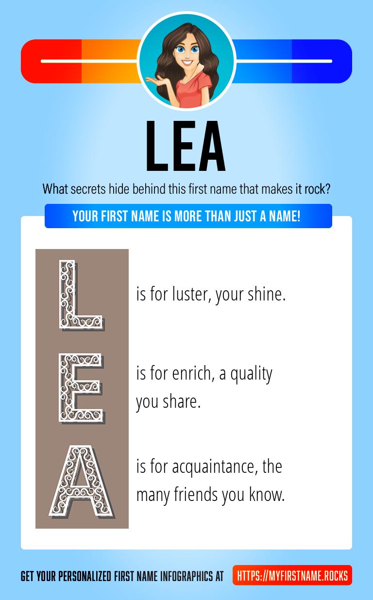 Lea Infographics