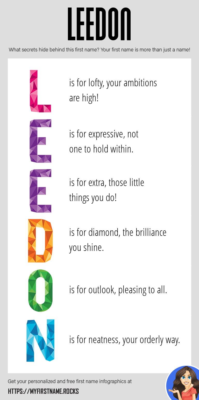 Leedon Infographics