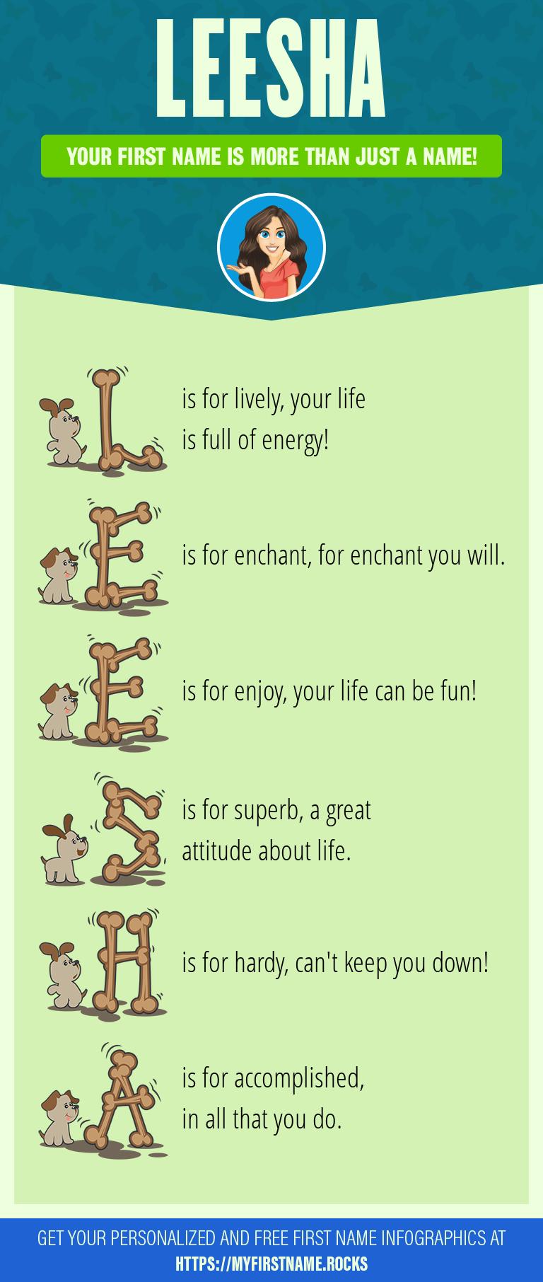 Leesha Infographics