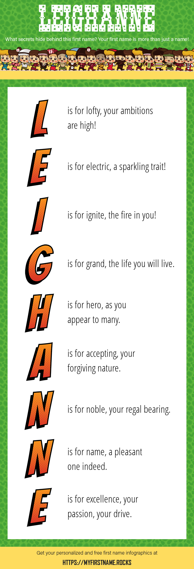 Leighanne Infographics