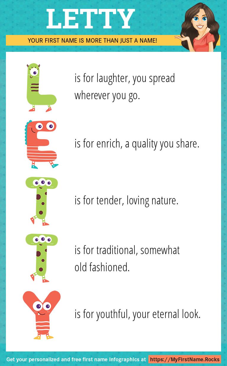Letty Infographics