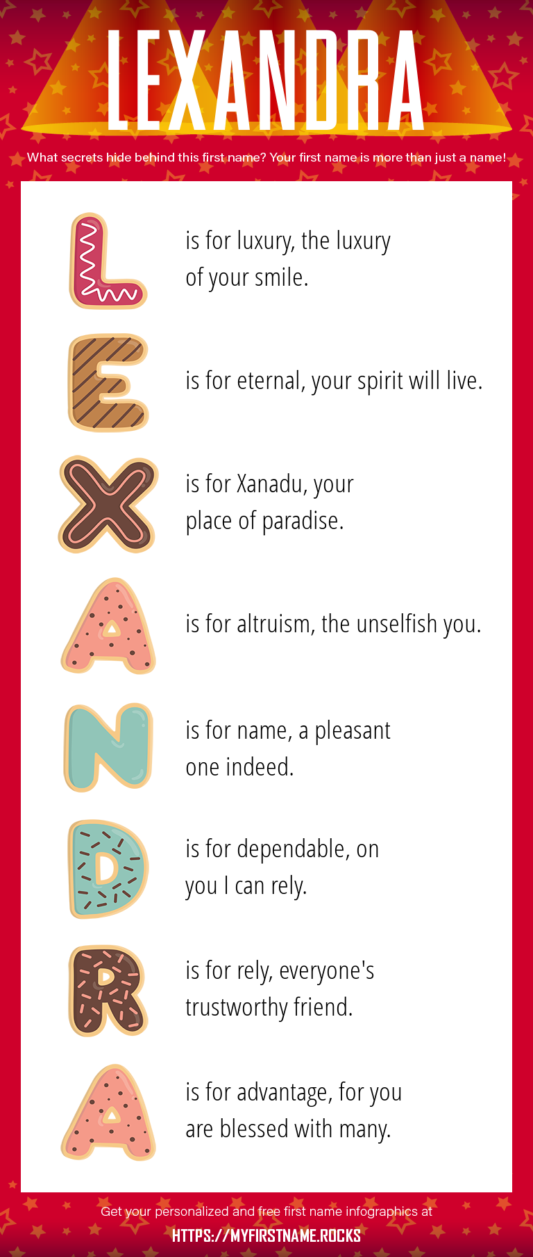 Lexandra Infographics