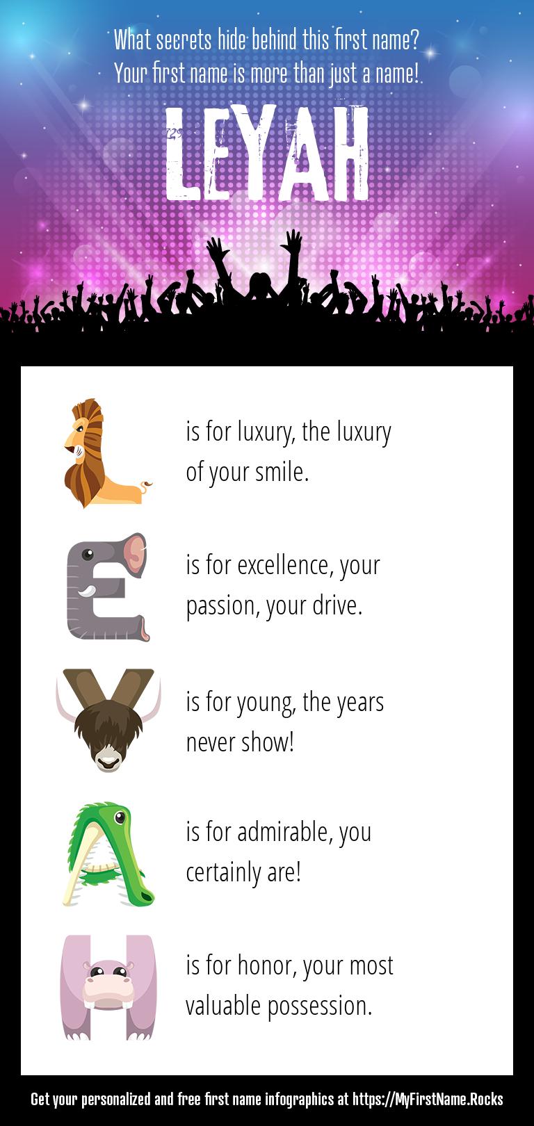 Leyah Infographics