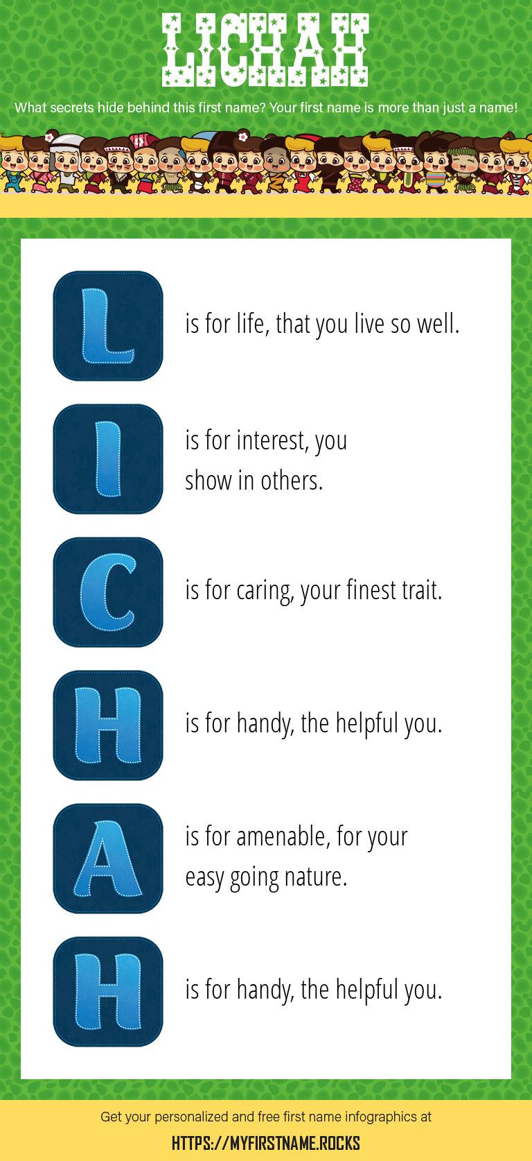 Lichah Infographics
