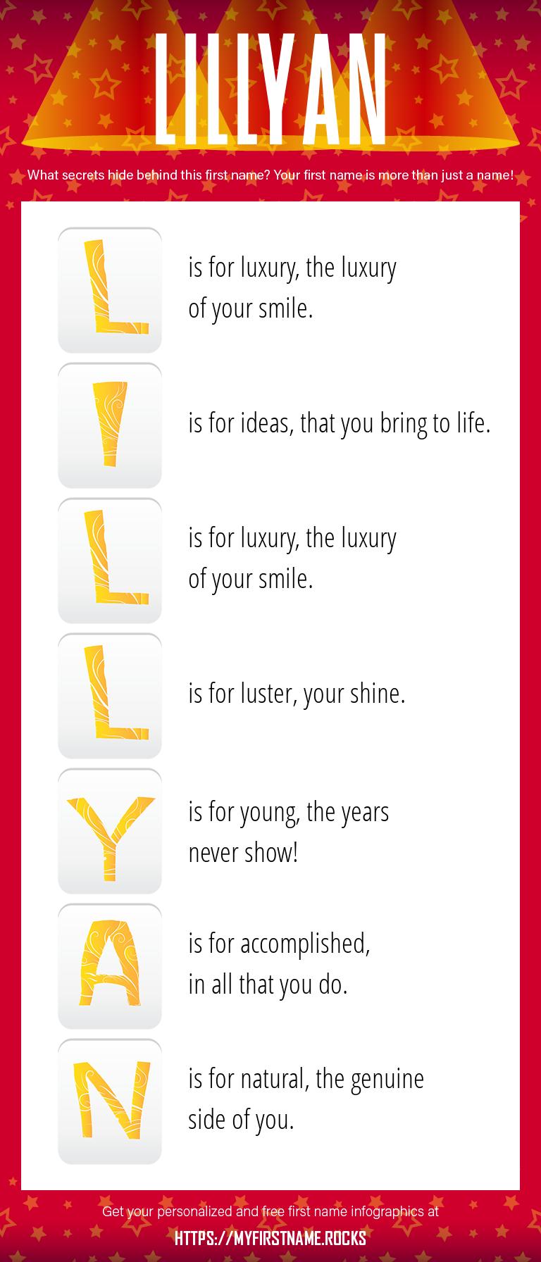 Lillyan Infographics