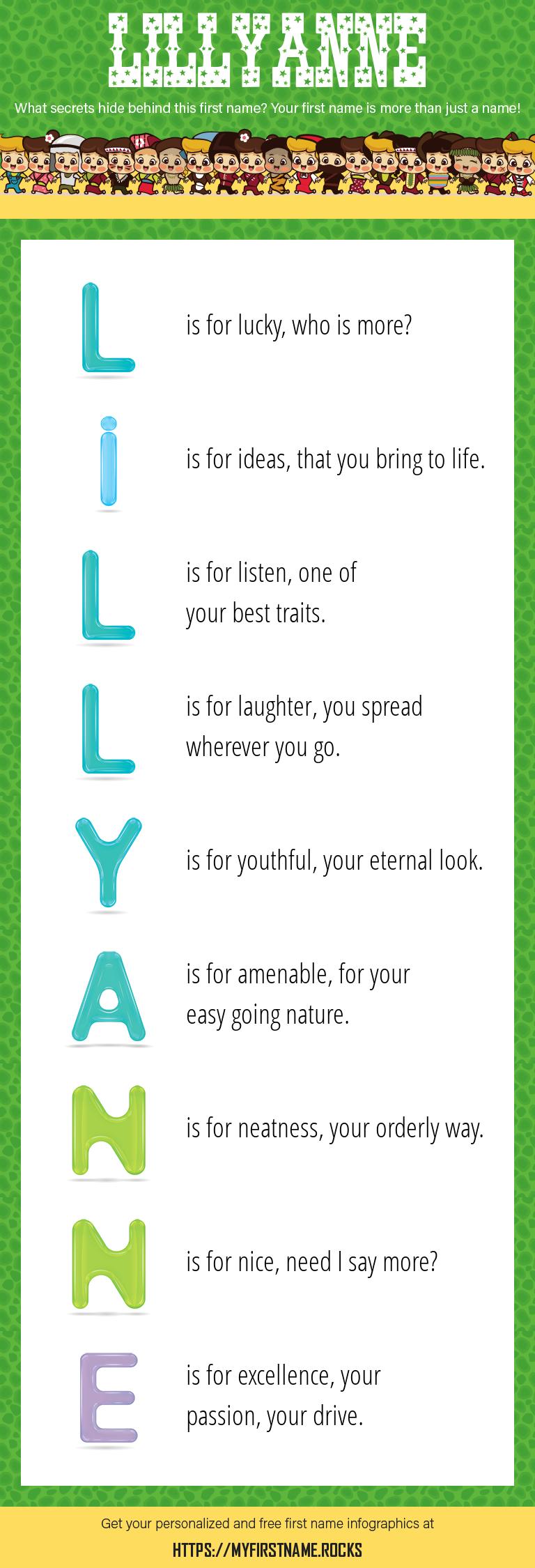 Lillyanne Infographics