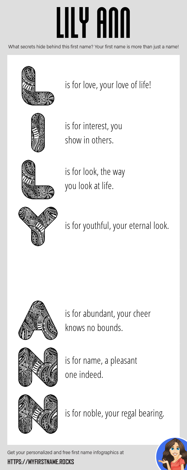 Lily Ann Infographics
