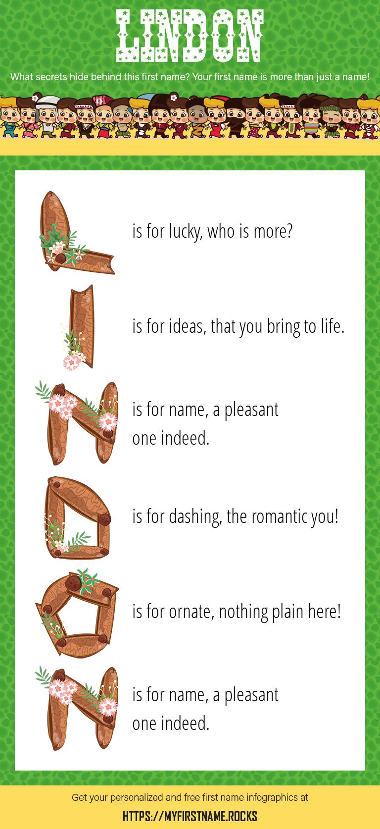 Lindon Infographics