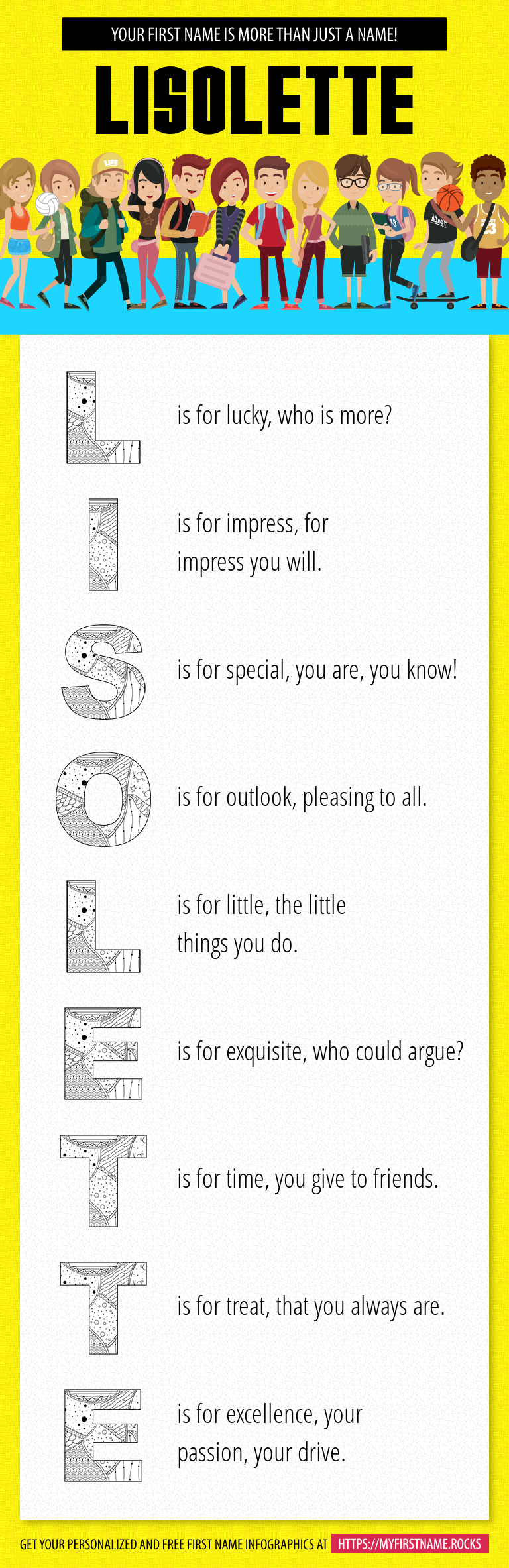 Lisolette Infographics
