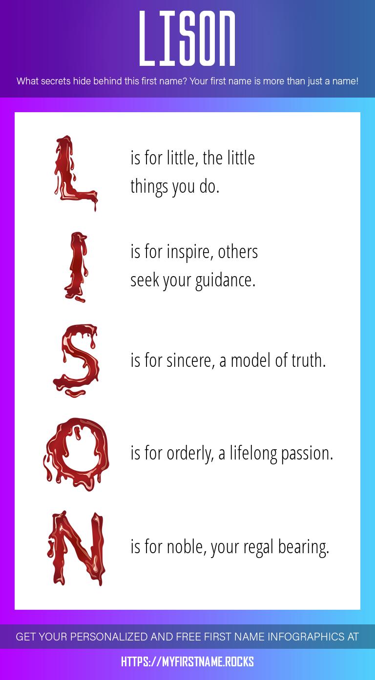 Lison Infographics