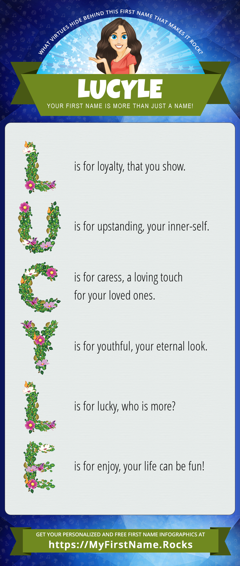 Lucyle Infographics