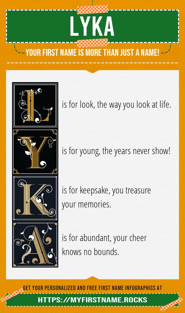 Lyka Infographics