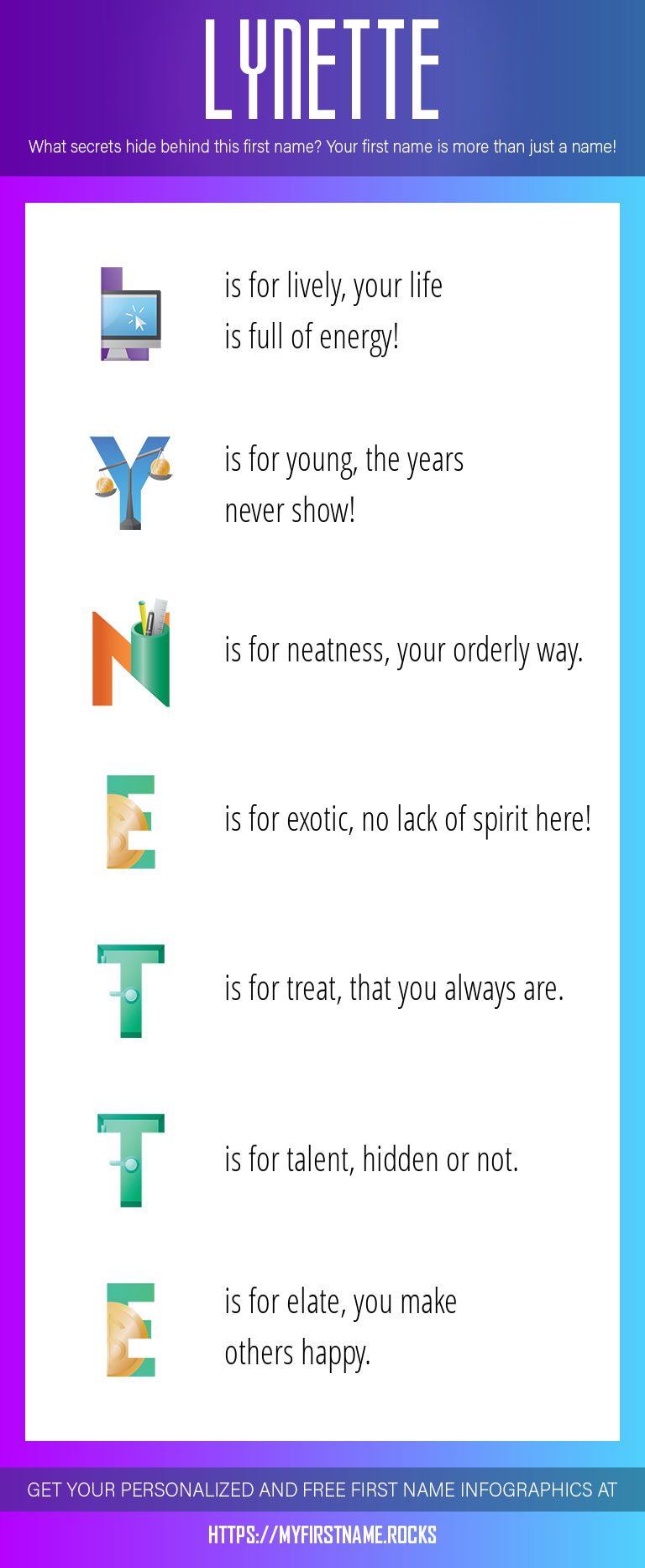 Lynette Infographics