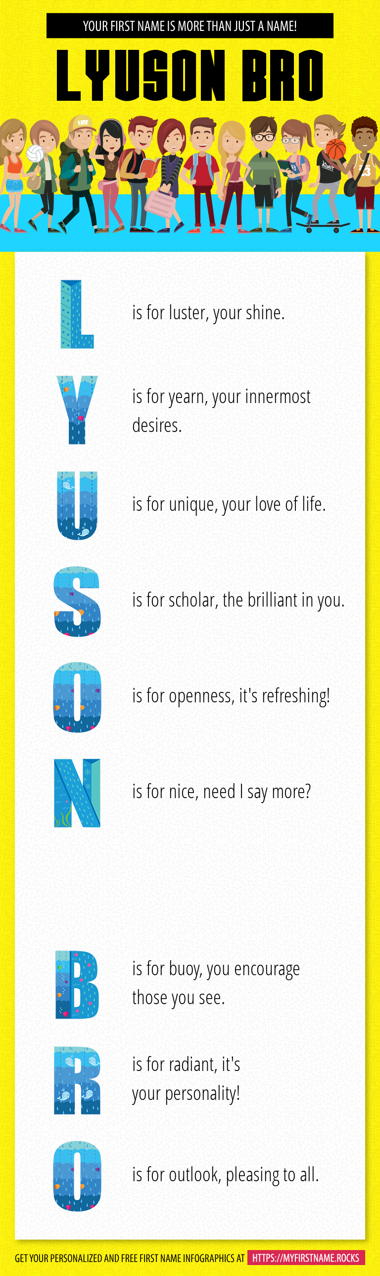 Lyuson Bro Infographics
