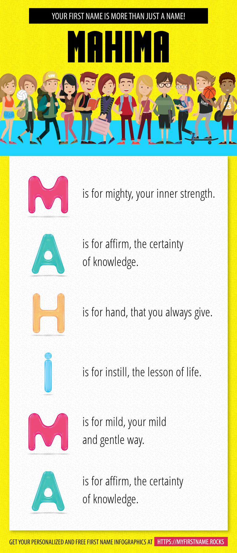Mahima Infographics