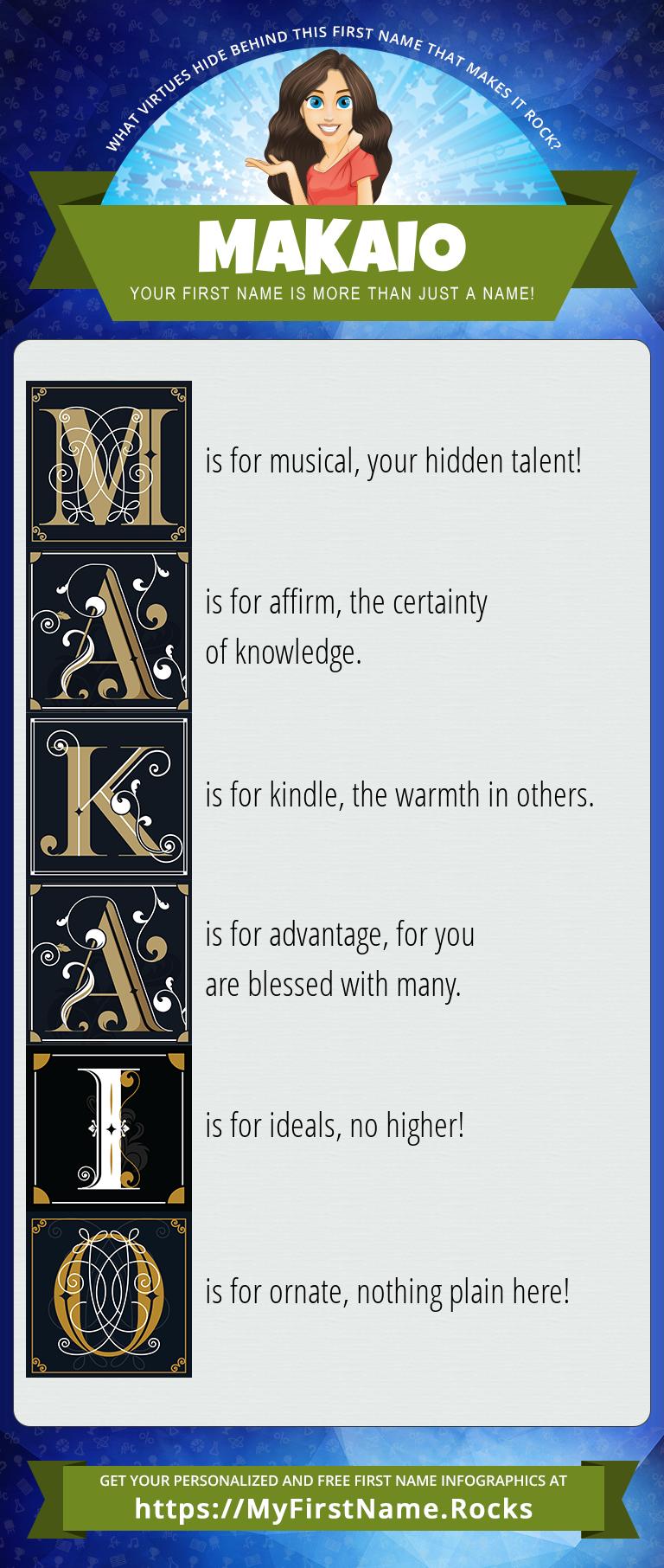 Makaio Infographics