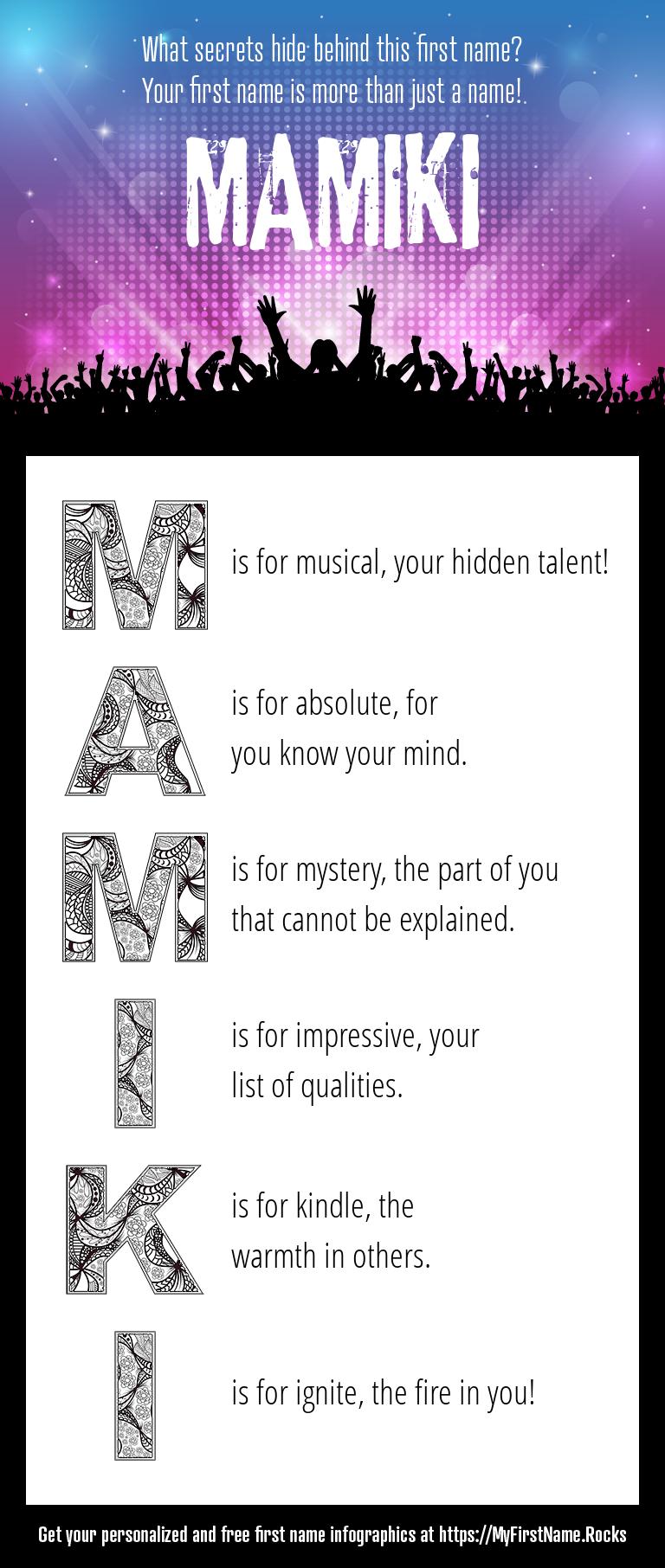 Mamiki Infographics