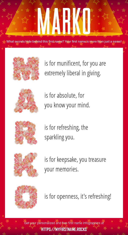 Marko Infographics