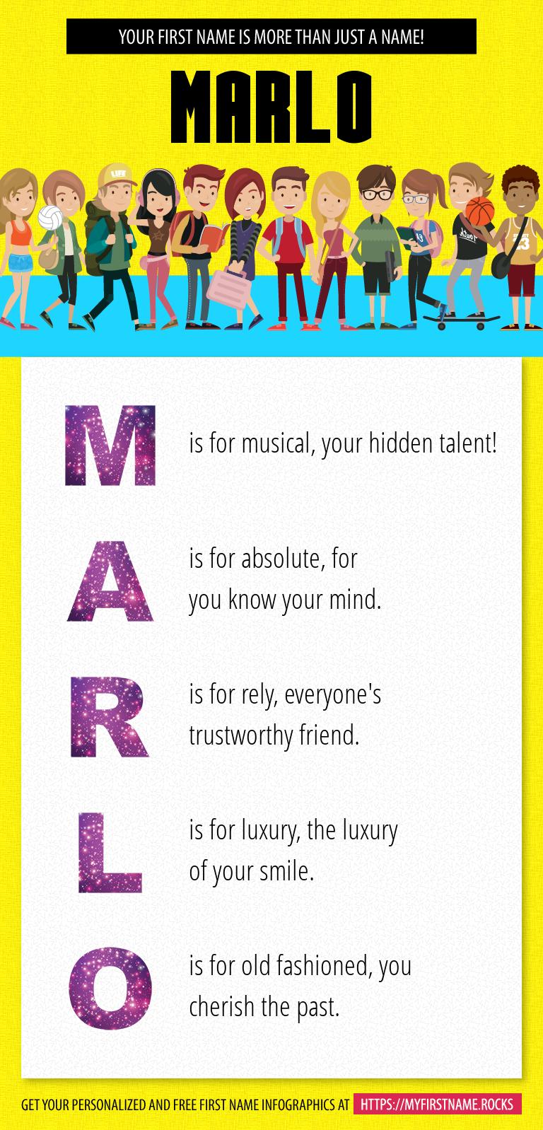 Marlo Infographics