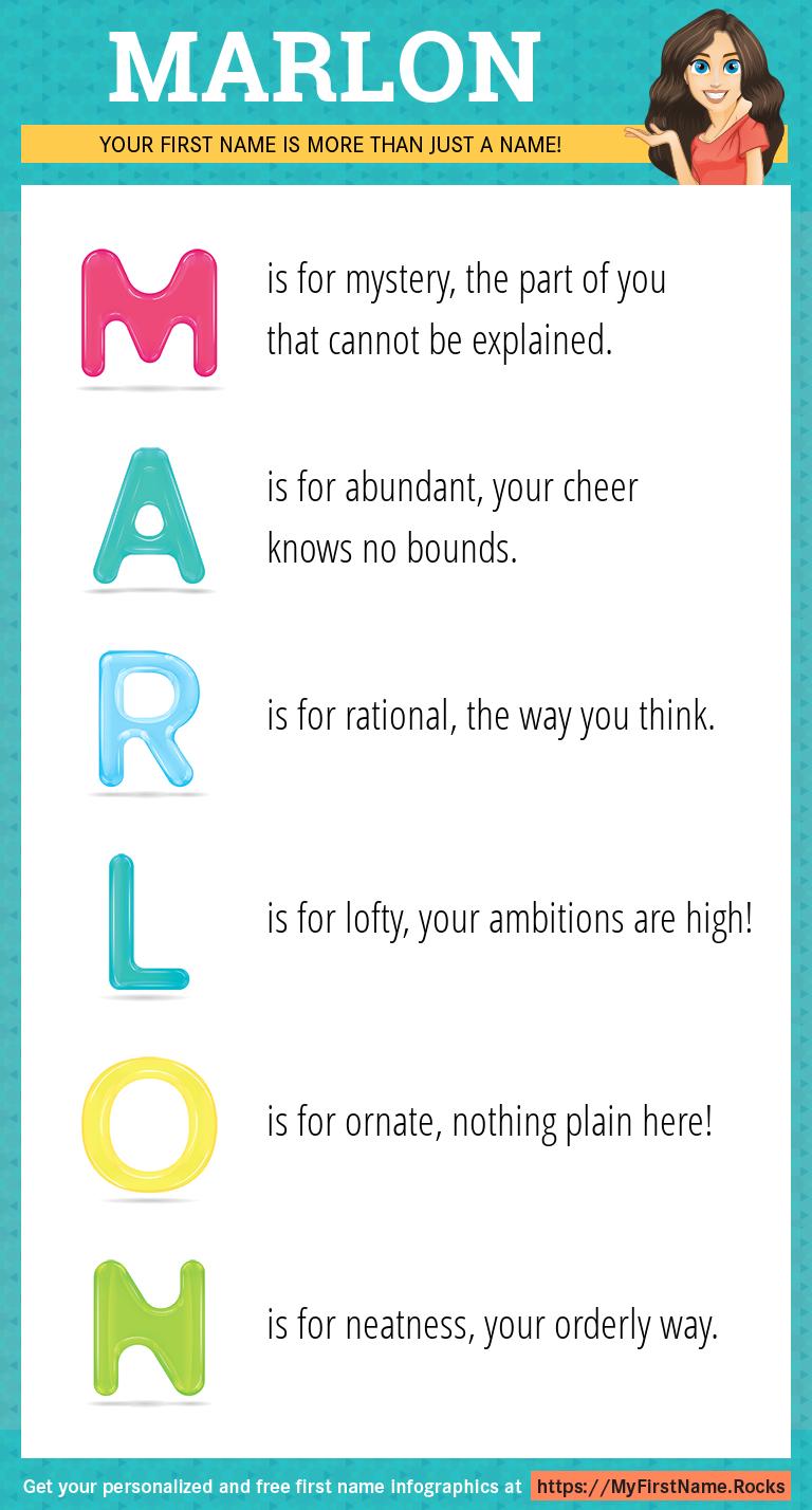 Marlon Infographics