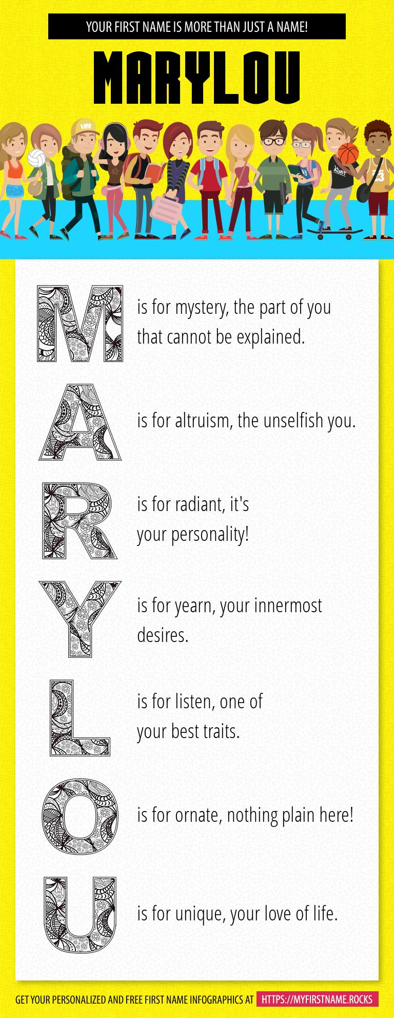 Marylou Infographics