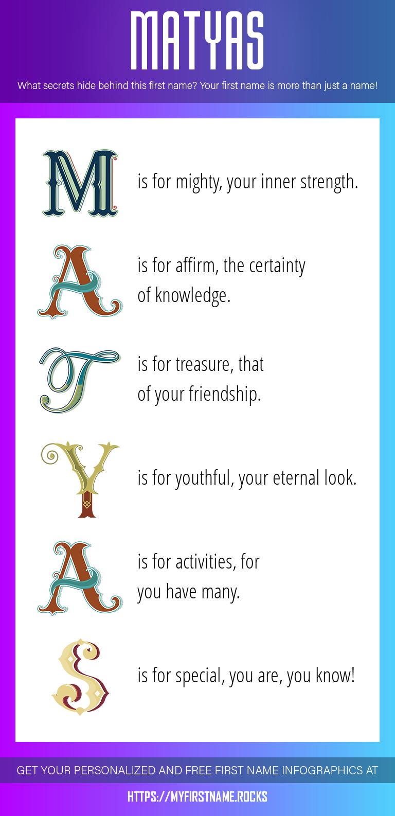Matyas Infographics