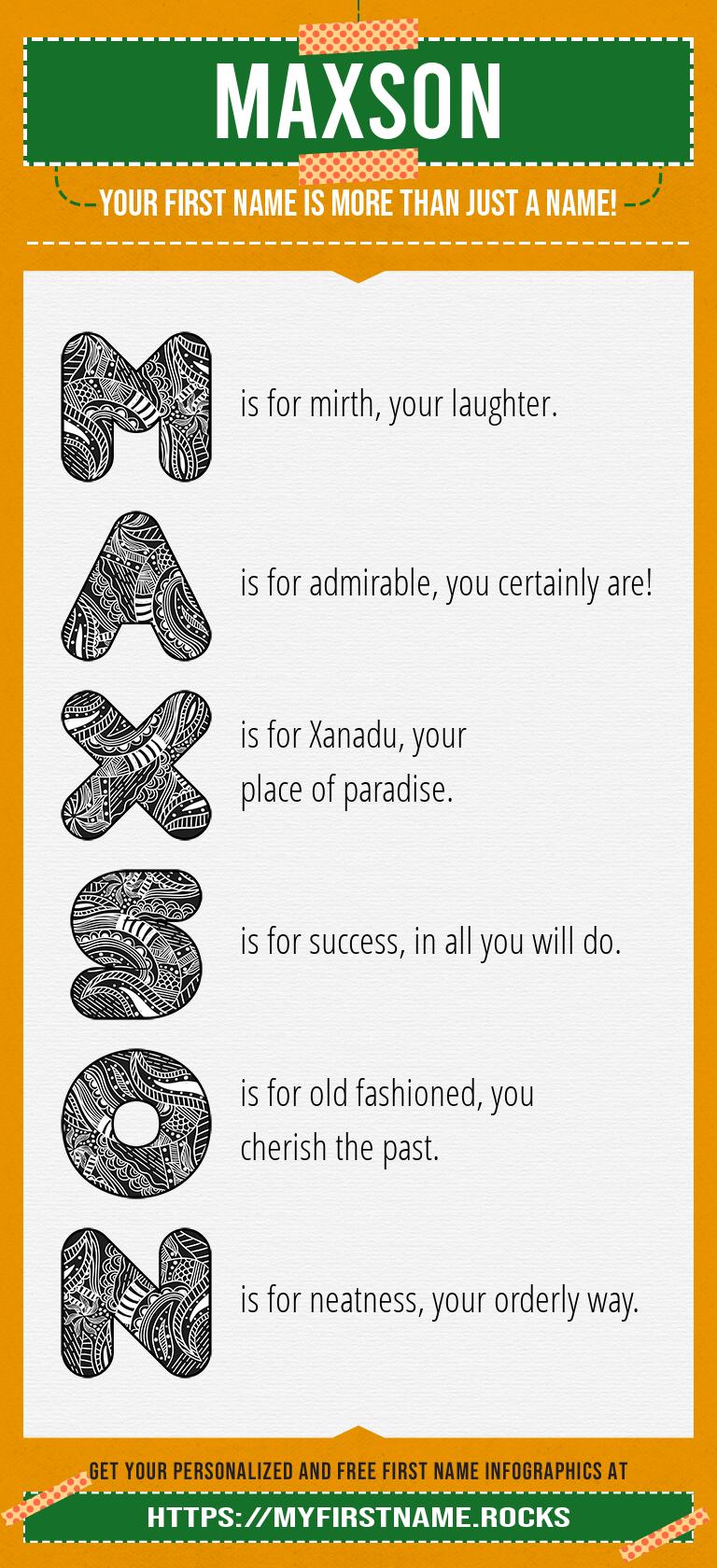 Maxson Infographics