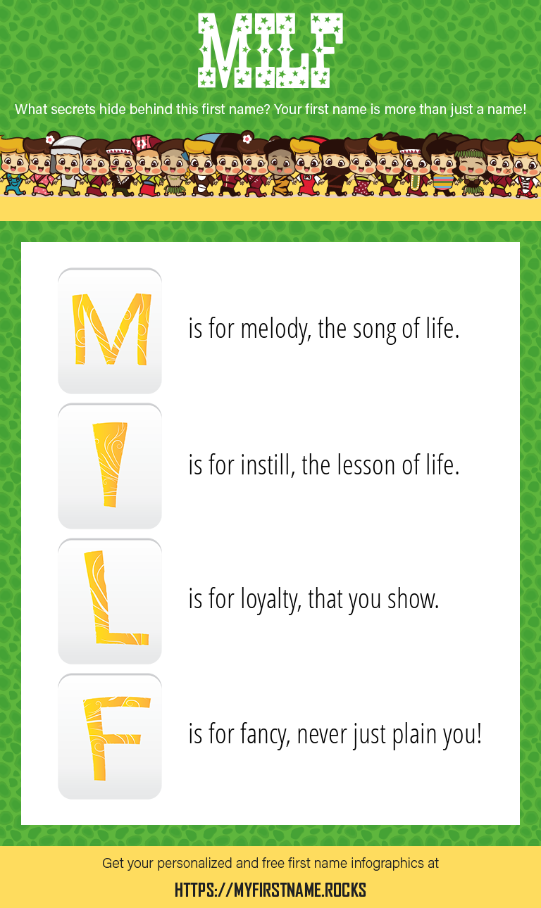 Milf Infographics