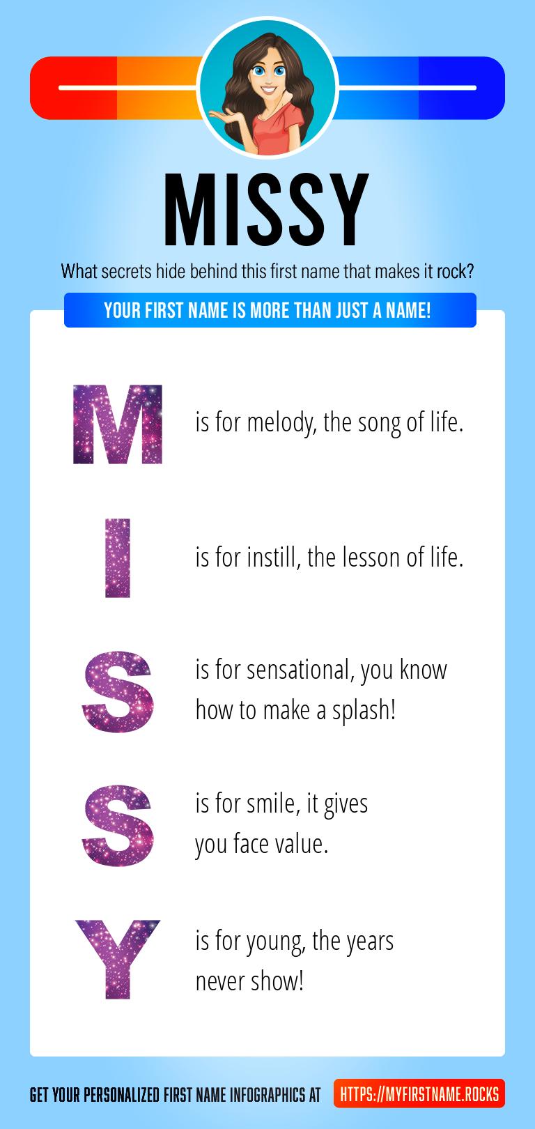 Missy Infographics