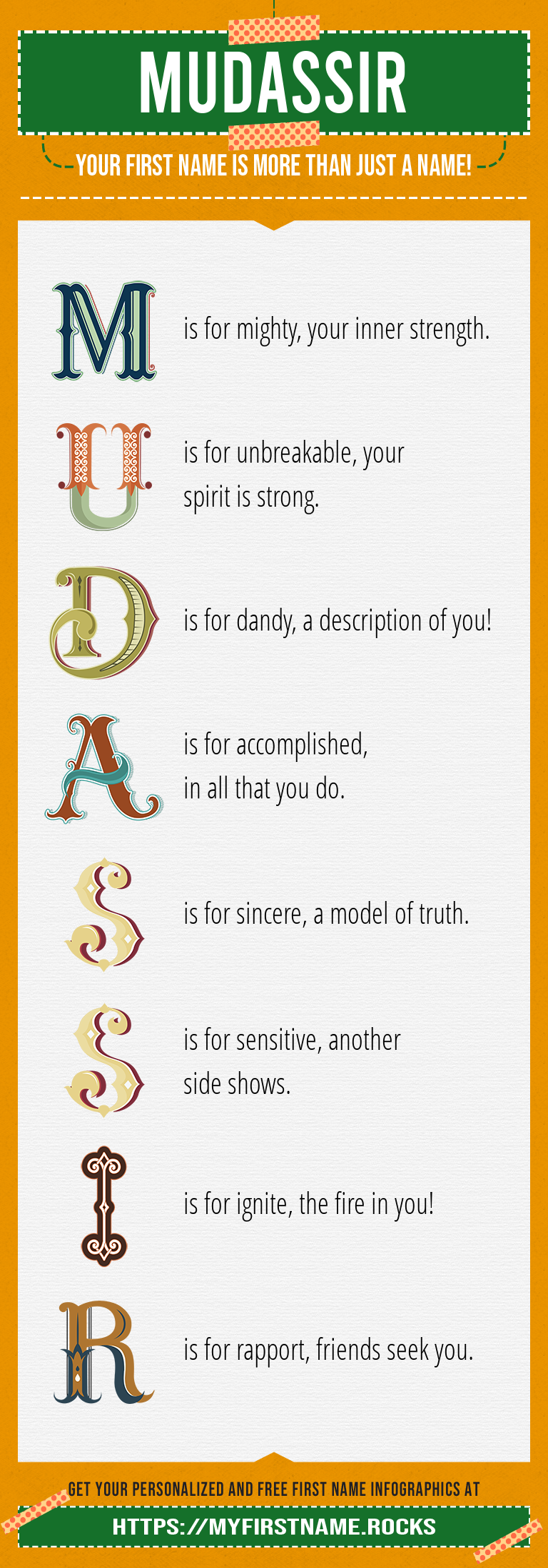 Mudassir Infographics