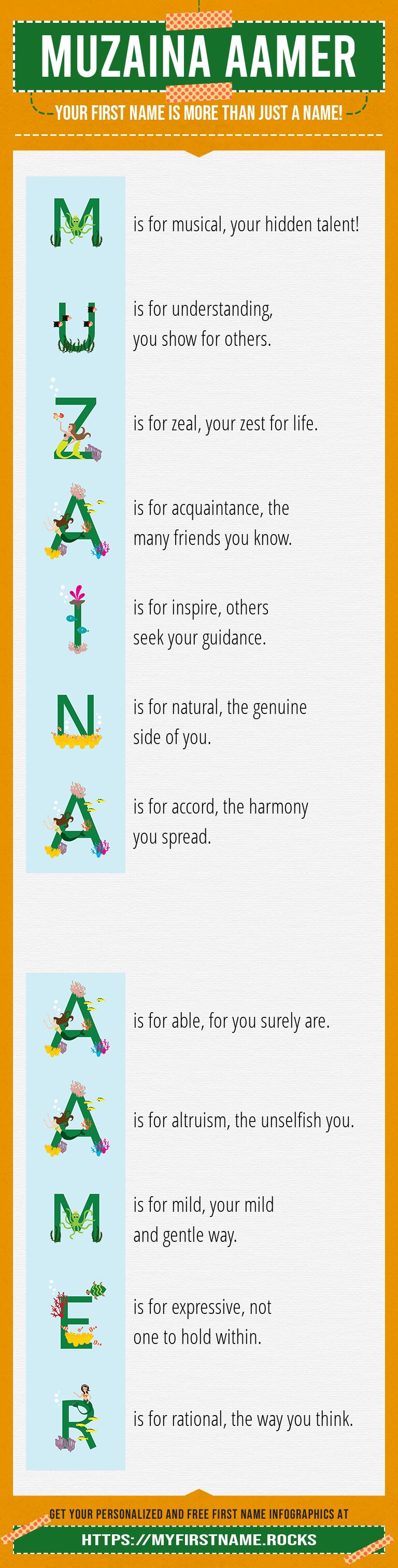 Muzaina Aamer Infographics