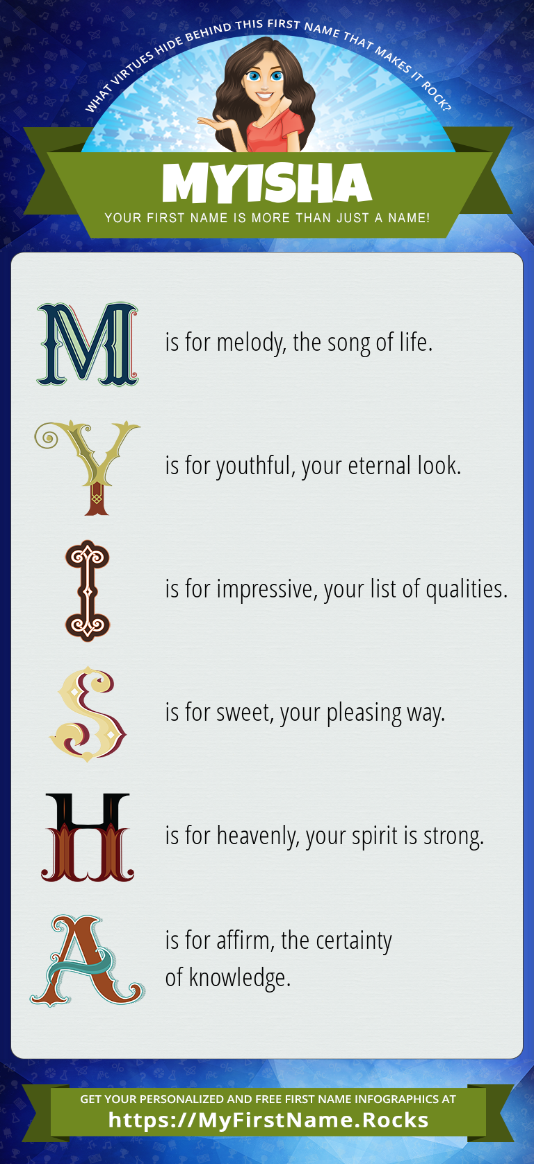 Myisha Infographics