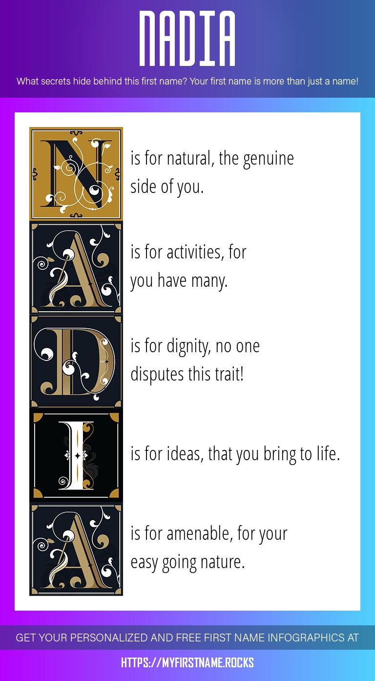 Nadia Infographics