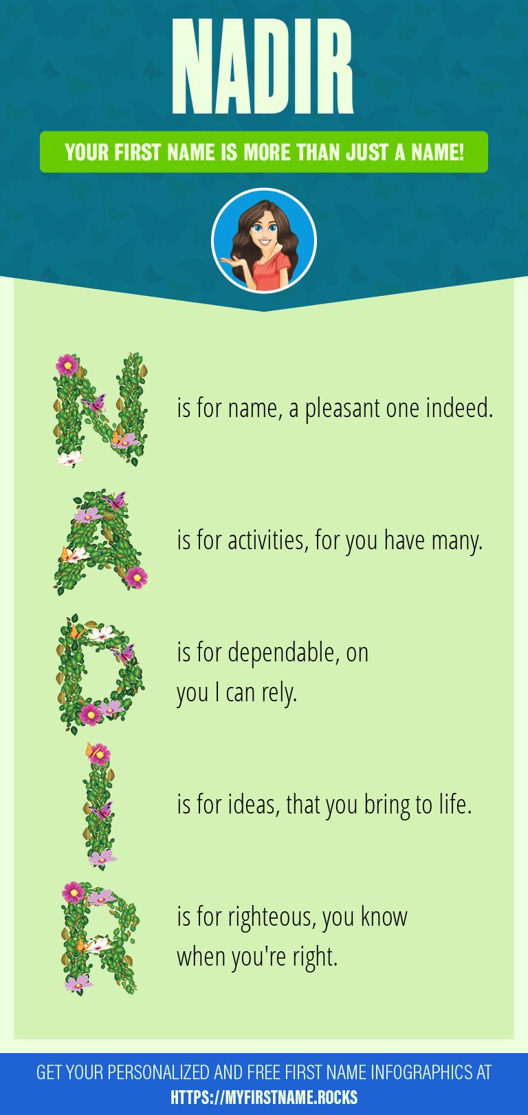 Nadir Infographics