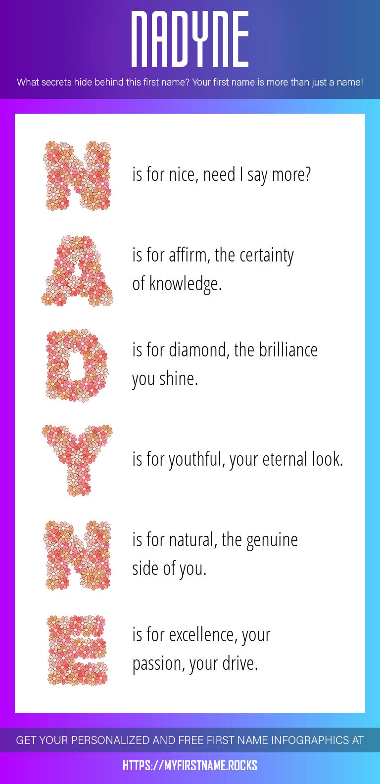 Nadyne Infographics