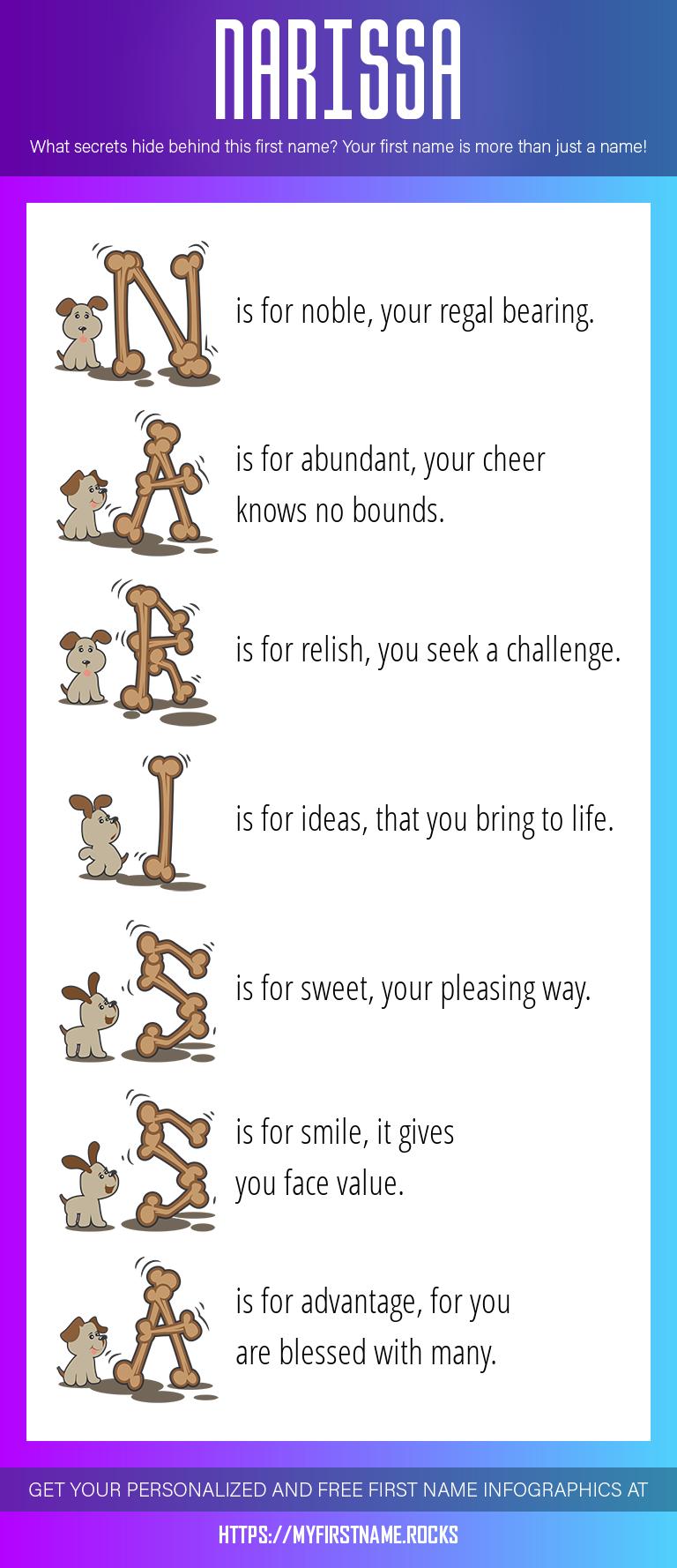 Narissa Infographics